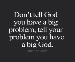 god, problem, and quote image