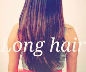 beauty, girl, and long hair image