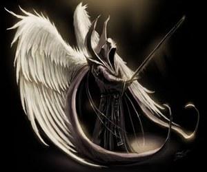 angel and dark image