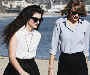 candid, Taylor Swift, and lorde image