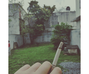 cigarette, cloudy, and day image