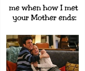 end, himym, and how i met your mother image