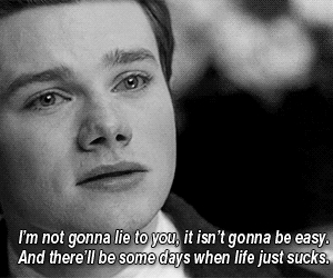 glee, quote, and life image