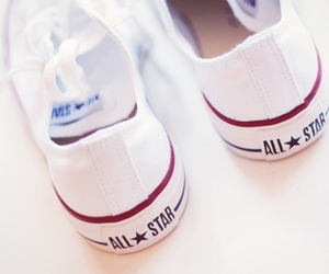 shoes, converse, and white image