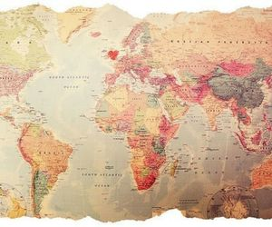 map, world, and travel image