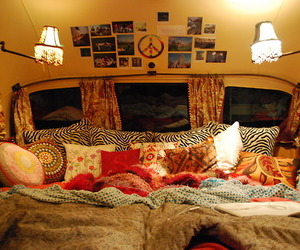 bedroom, peace, and boho image