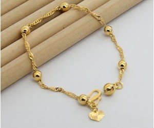 bead, delicate, and gold image