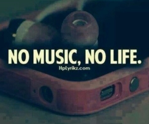 is, music, and life image