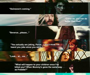 harry potter, last words, and severus snape image