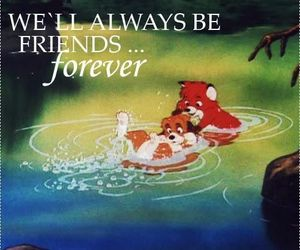 quote, disney, and forever image