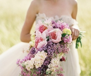 wedding and bouquet image