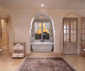 bathroom, interior design, and luxury image