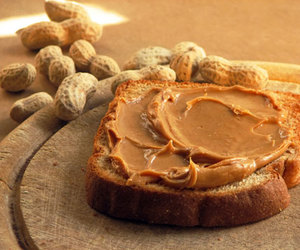 food, peanut butter, and yummy image