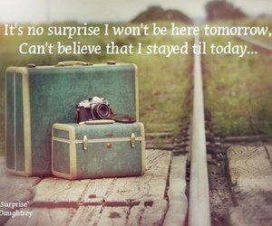suitcase, text, and today image