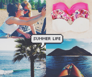 life, speech bubbles, and summer image