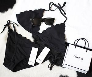 chanel, bikini, and fashion image