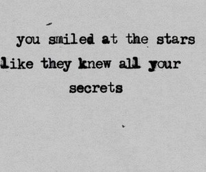 stars, quotes, and secret image