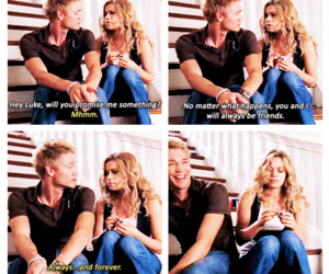 friendship, lucas scott, and oth image