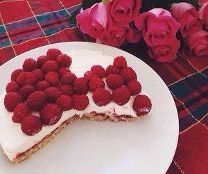 berries, dessert, and food image
