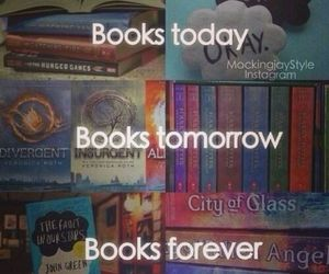 book, forever, and divergent image