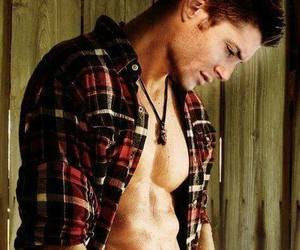 boy, flannel shirt, and Hot image