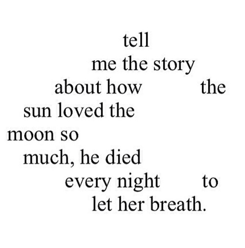 The Sun And The Moon 3 On We Heart It