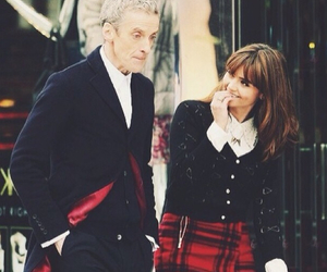 doctor who, peter capaldi, and jenna-louise coleman image