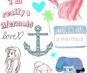 ariel, background, and disney image
