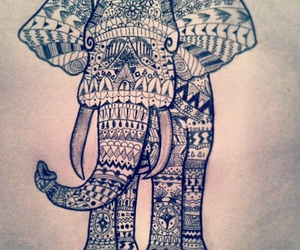 decorations, drawing, and elephant image