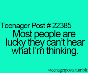 teenager post, lucky, and post image