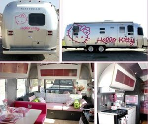 hello kitty and dream home on wheels image