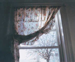 vintage, window, and photography image
