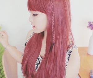 korean, hair, and kawaii image