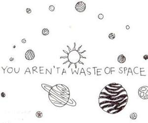 quote, space, and tumblr image