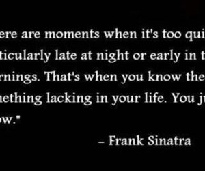 frank sinatra, quote, and life image