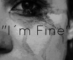 cry, fine, and sad image