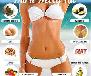 health, healthy, and flatbelly image