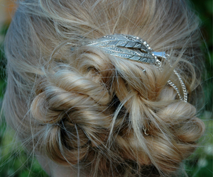 beauty, hair, and Prom image