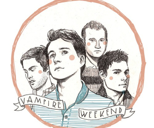 vampire weekend and drawing image