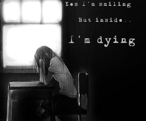 black and white, broken, and dying image
