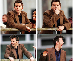 david tennant, doctor who, and smile image