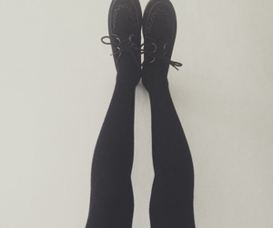 fashion, black, and creepers image