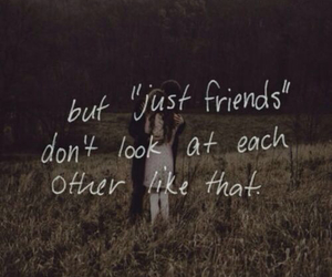 him, I Love You, and just friends image