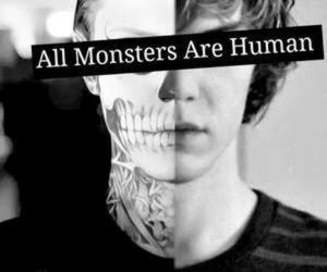 monster, human, and quote image