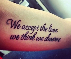 tattoo, love, and quotes image