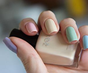 nail polish, nails, and zoya image
