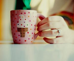 cup, mug, and ice cream image