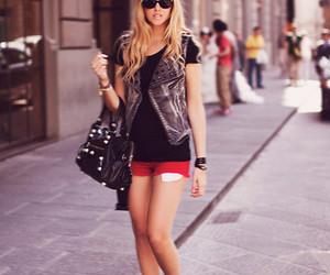black, chiara ferragni, and outfit image