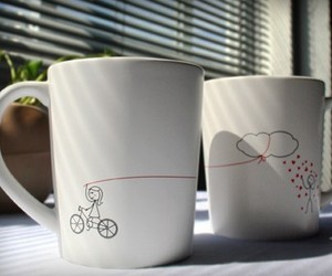 cup, love, and mug image
