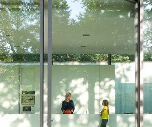 architecture., large white cupboard, and glass house image